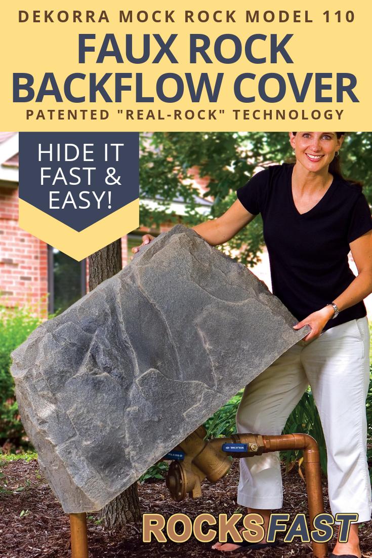 Dekorra Mock Rock Model 110 Fake Rock Cover Fake Rock Covers Fake Rock Rock Cover