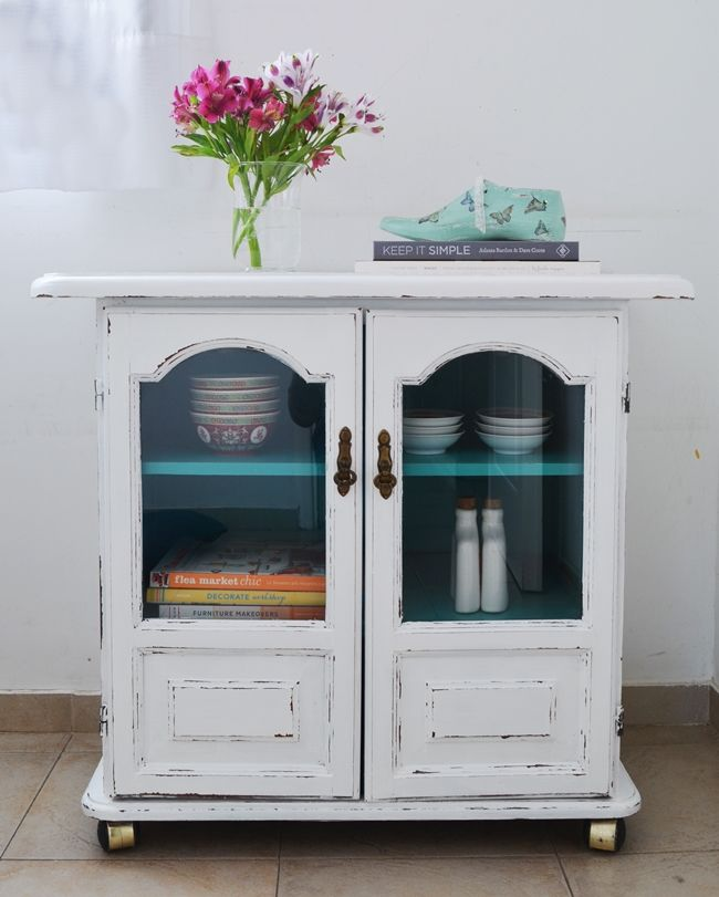 Para dos muebles de algarrobo: Blanco & Color III {Aguamarino ...