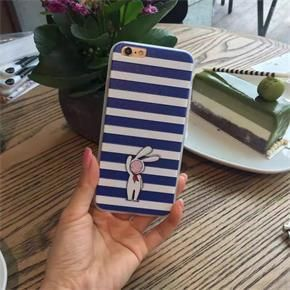 Fashion Blue Stripe Pattern Iphone 6/6s Case Cover