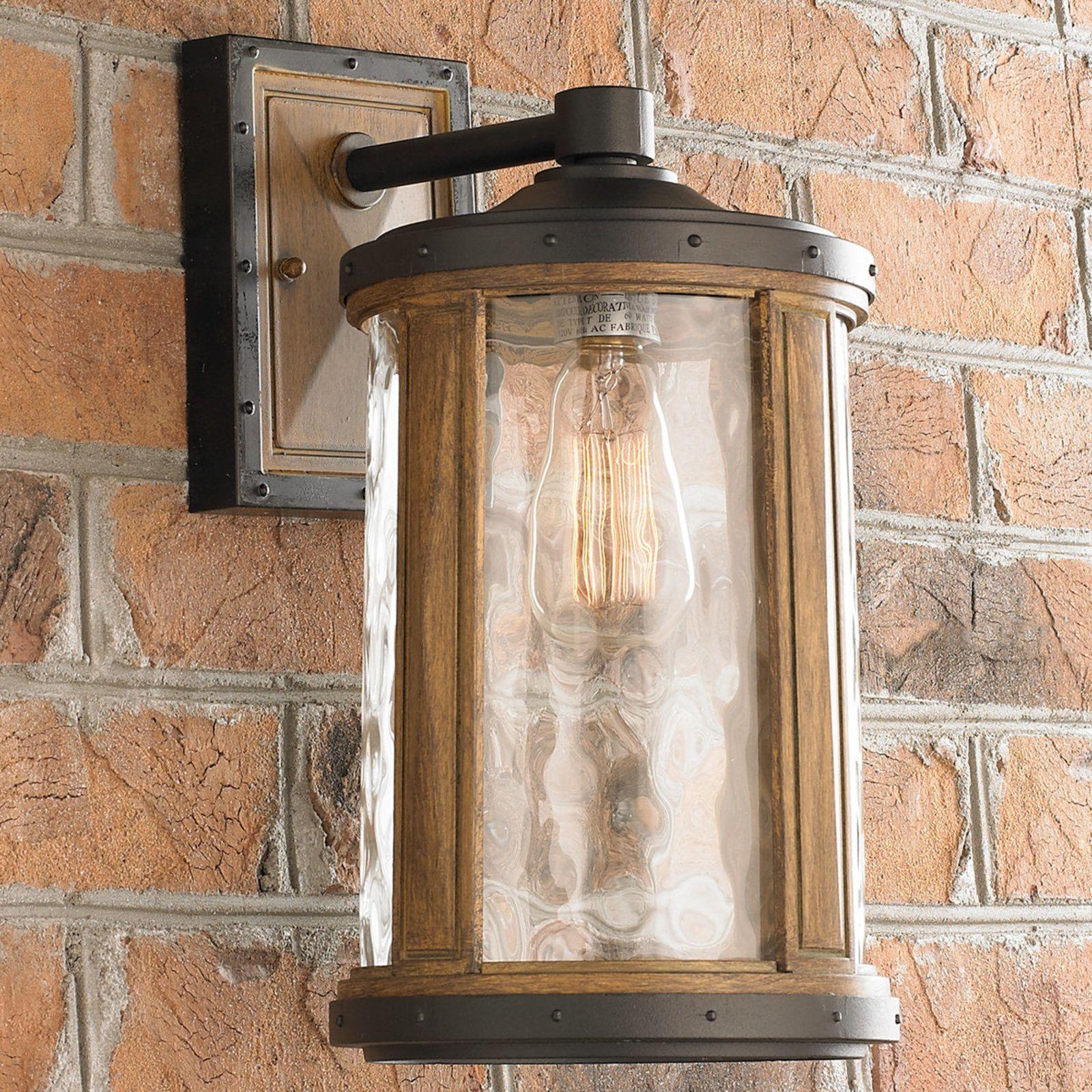 Rustic Mission Outdoor Wall Lantern Medium