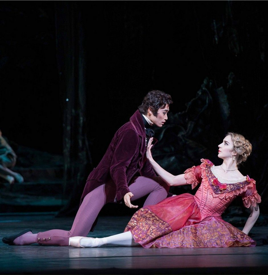 Ryoichi Hirano and Nathalie Harrison in The Dream by Frederick Ashton, The Royal Ballet 2013/14