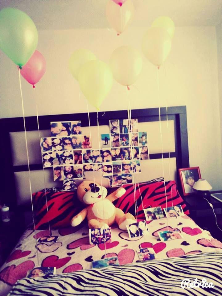 Para mi Novio arreglo de su cuarto ♡Mi amor♡ Pinterest