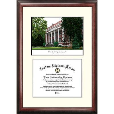 Campus Images NCAA University of Oregon Scholar Diploma Picture Frame