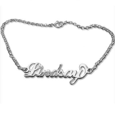 bracelet pr nom argent et cristal bijoux personnalis s pinterest bracelet pr nom bijoux. Black Bedroom Furniture Sets. Home Design Ideas