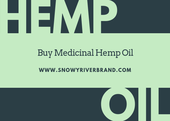 Buy Medicinal Hemp Oil