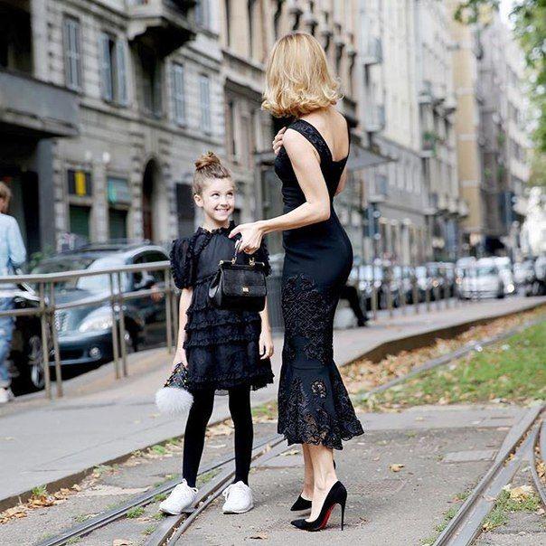 Ульяна и Василиса в Милане