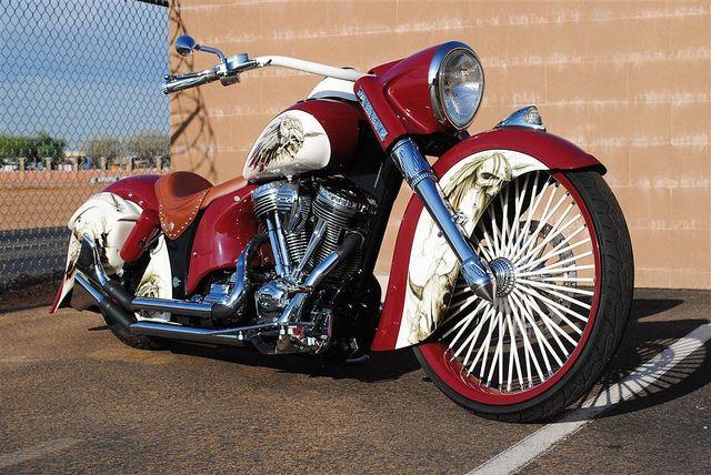 Indian Custom Indian Motorcycle Indian Motorbike Motorcycle