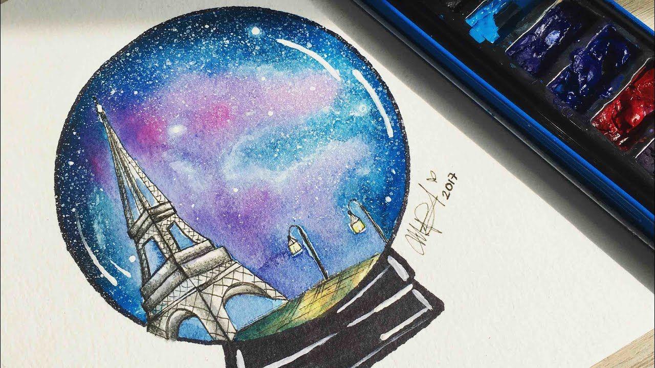 Torre Eiffel Tumblr Dibujo Tumblr En Acuarelas Draw Tumblr