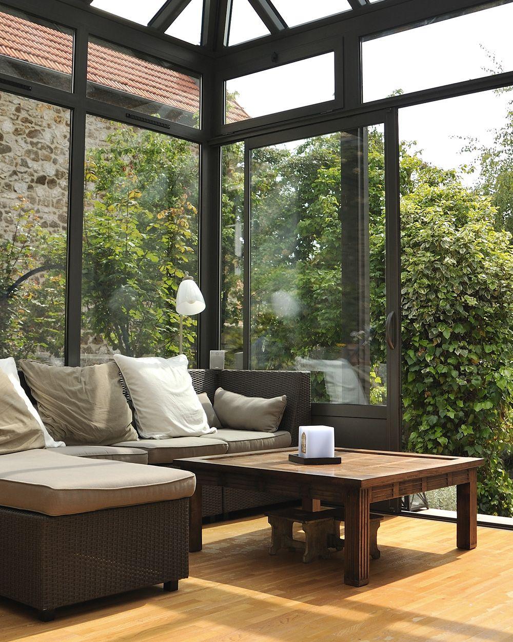 Une pièce en plus dans votre maison avec une véranda | Veranda alu, Maison et Veranda