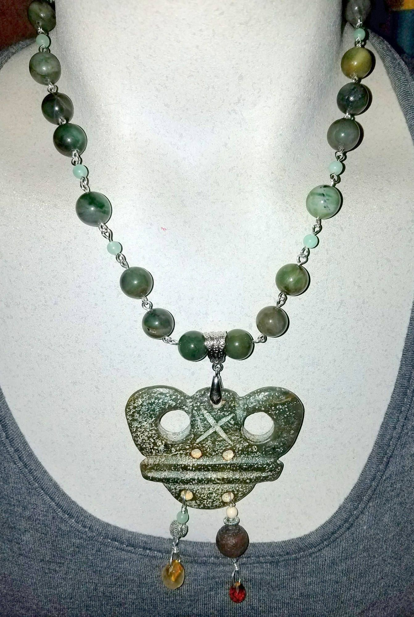 chinese jade pendant green jewelry listing carved necklace fullxfull il skcr earings