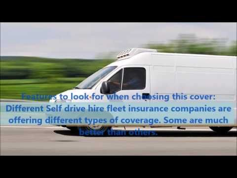 Self drive hire fleet insurance: What you should know ...