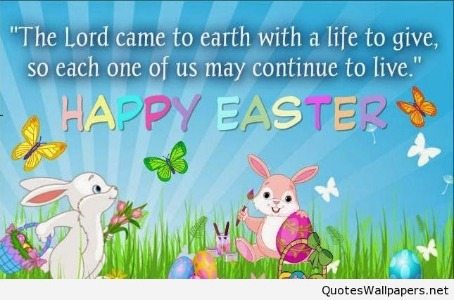Genial Happy Easter Bunny Quote Cartoon 2016