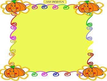 Pumpkins halloween fall editable powerpoint template template pumpkins halloween fall editable powerpoint template toneelgroepblik Choice Image