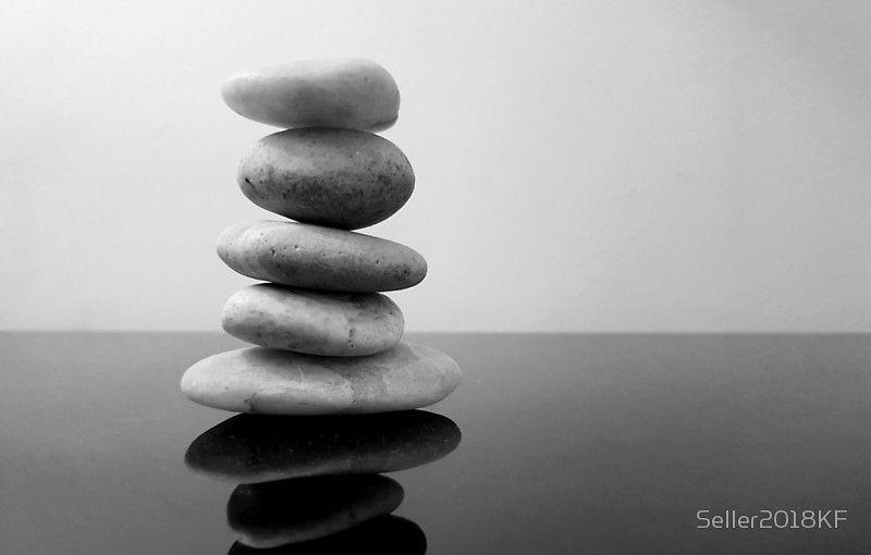 Zen Stones Black And White Photographic Print By Seller2018kf In 2021 Zen Wall Art Zen Art Stone Photography