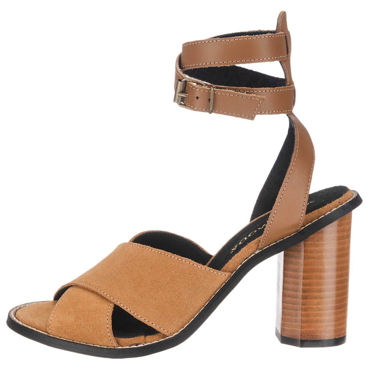 Charmante Sandalette mit Schnürung am Knöchel für