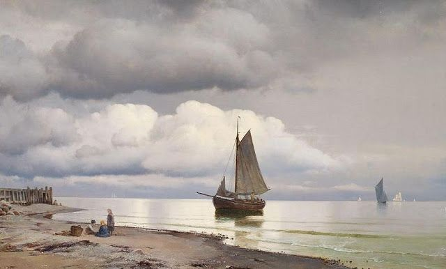 Danish Marine Painter Carl Neumann (1833-1891) | Art with Boats ...