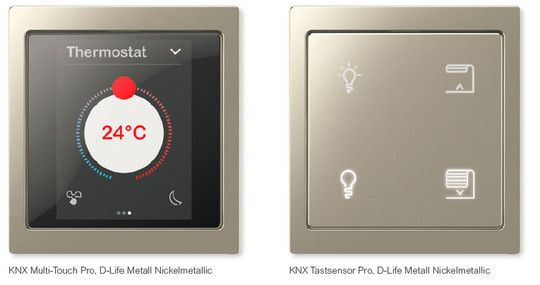 Merten - KNX in System Design | knx glass sensor | Pinterest