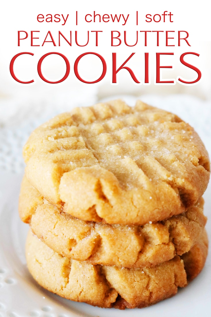 Photo of The Easiest Chewy Peanut Butter Cookies – The Anthony Kitchen