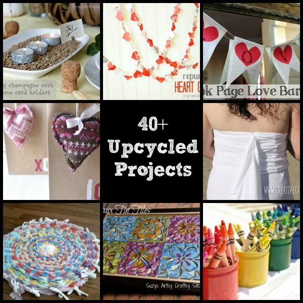 40 Upcycled And Recycled Crafts And Diy Projects Crafts Other