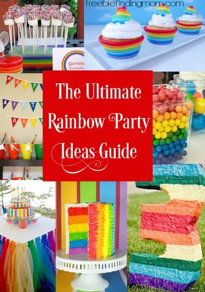 The Ultimate Rainbow Party Ideas Guide