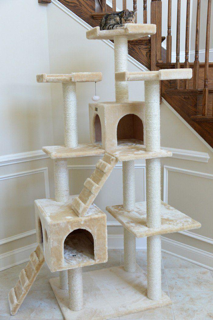 kratzbaum selber bauen 67 ideen und bauanleitungen katze kratzbaum selber. Black Bedroom Furniture Sets. Home Design Ideas