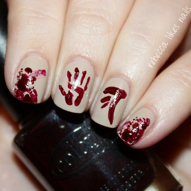 Supernatural Nails via Rebecca Likes Nails