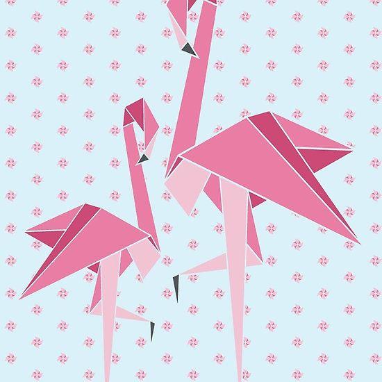 Origami Flamingo Birdie Pinterest Flamingo Origami And Tattoo