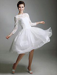TALIYAH - Vestido de Noiva em Cetim – BRL R$ 238,35