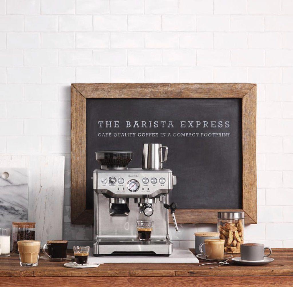 ماكينة بريفل Breville The Barista Express Barista Breville Quality Coffee