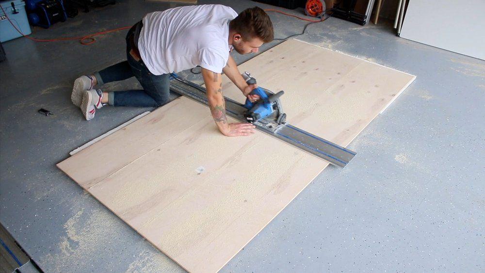 Diy plywood floors patterned flooring modern builds