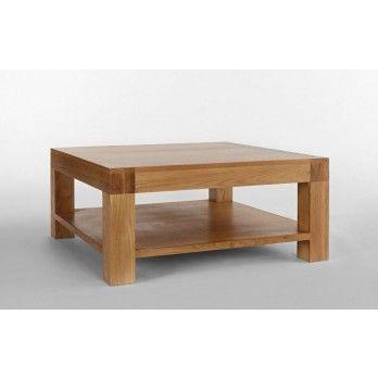 Santana Blonde Oak Square Coffee Table Coffee Table Oak Coffee