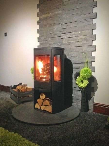 Image2 1ight Jpg With Images Wood Burner Fireplace Modern