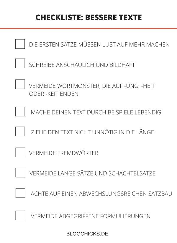Gutes Deutsch Fur Blogger 9 Tipps Fur Bessere Texte Blogchicks Erfolgreich Bloggen Bloggen Satzbau