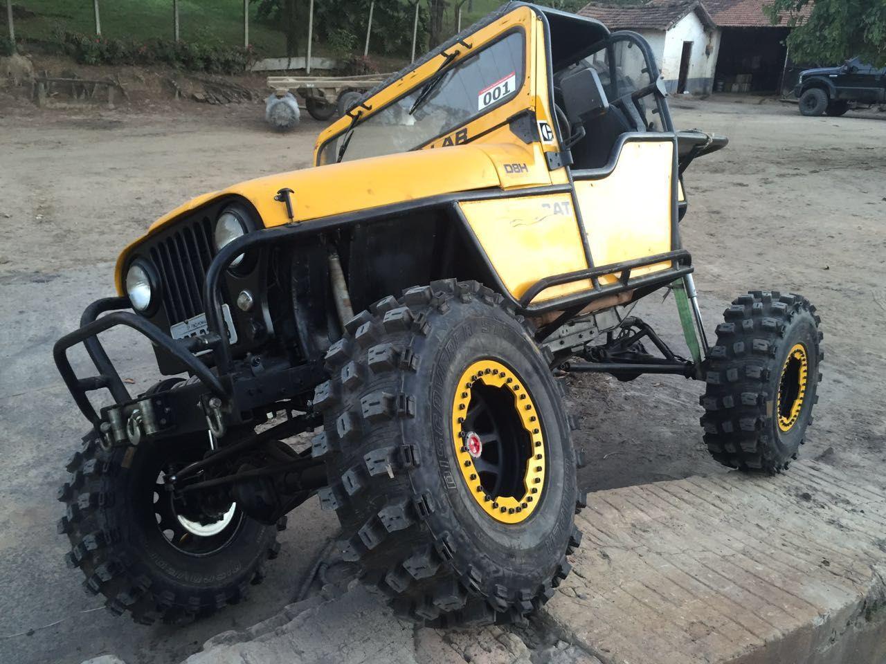 Um Jeep Feito Trator Revista 4x4 Digital Jeep Monster Truck 4x4