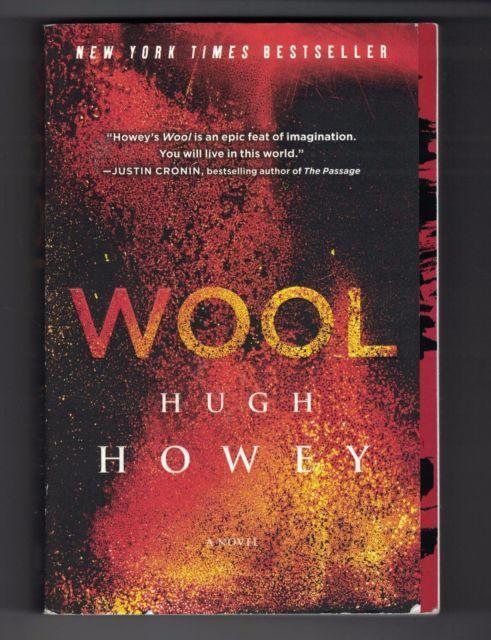 Wool Silo Series Book 1 Hugh Howey paperback - MOVIE COMING