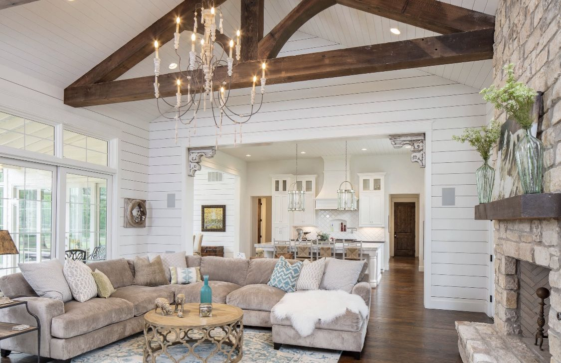 Modern Country Style Beige Living Room Decor Beige Living Room Decor Farm House Living Room Living Room Decor Country