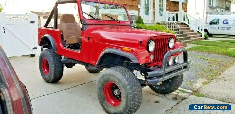 Car For Sale 1977 Jeep Cj Cj7