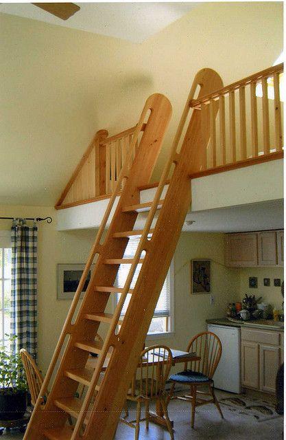 Best Ladder Tiny House Loft Loft Railing Tiny House Stairs 400 x 300