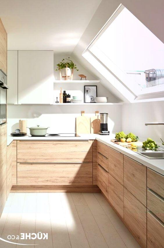 Kuche Dachgeschoss In Eiche San Remo Kuche Dachschrage Kuche Dachschrage Ideen Kuche Einrichten