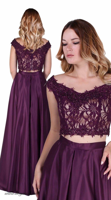 Uzun Ikili Abiye Elbise Balo Elbiseleri The Dress Resmi Elbise