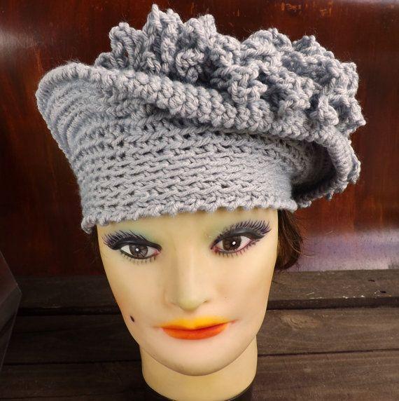 Crochet Pattern Hat, Womens Hat Pattern, Womens Crochet Hat Pattern ...