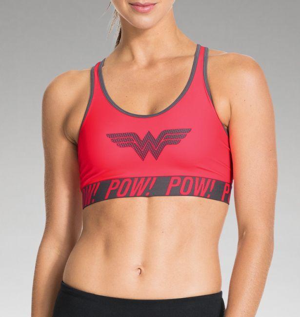 Women s Under Armour® Alter Ego Pop Art Wonder Woman Sports Bra Need this  for power during marathons. 165986f11