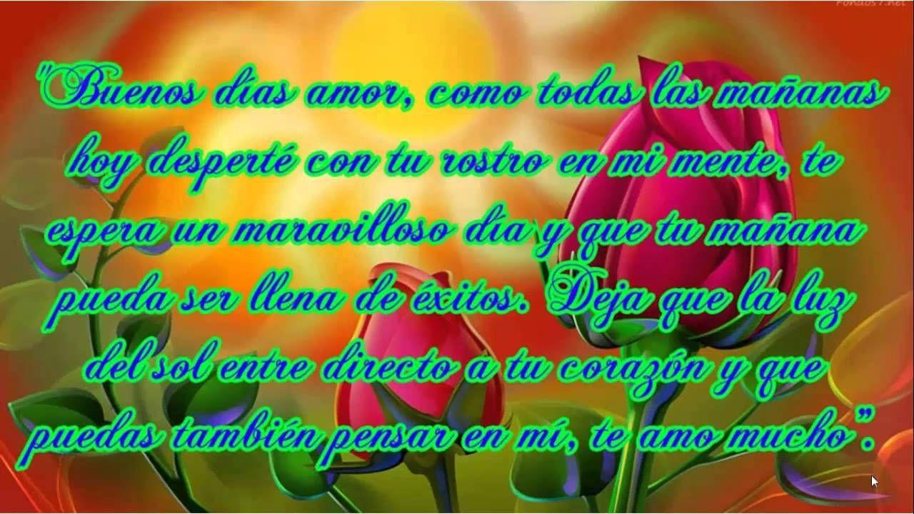 Frases De Amor Dias Buen Da