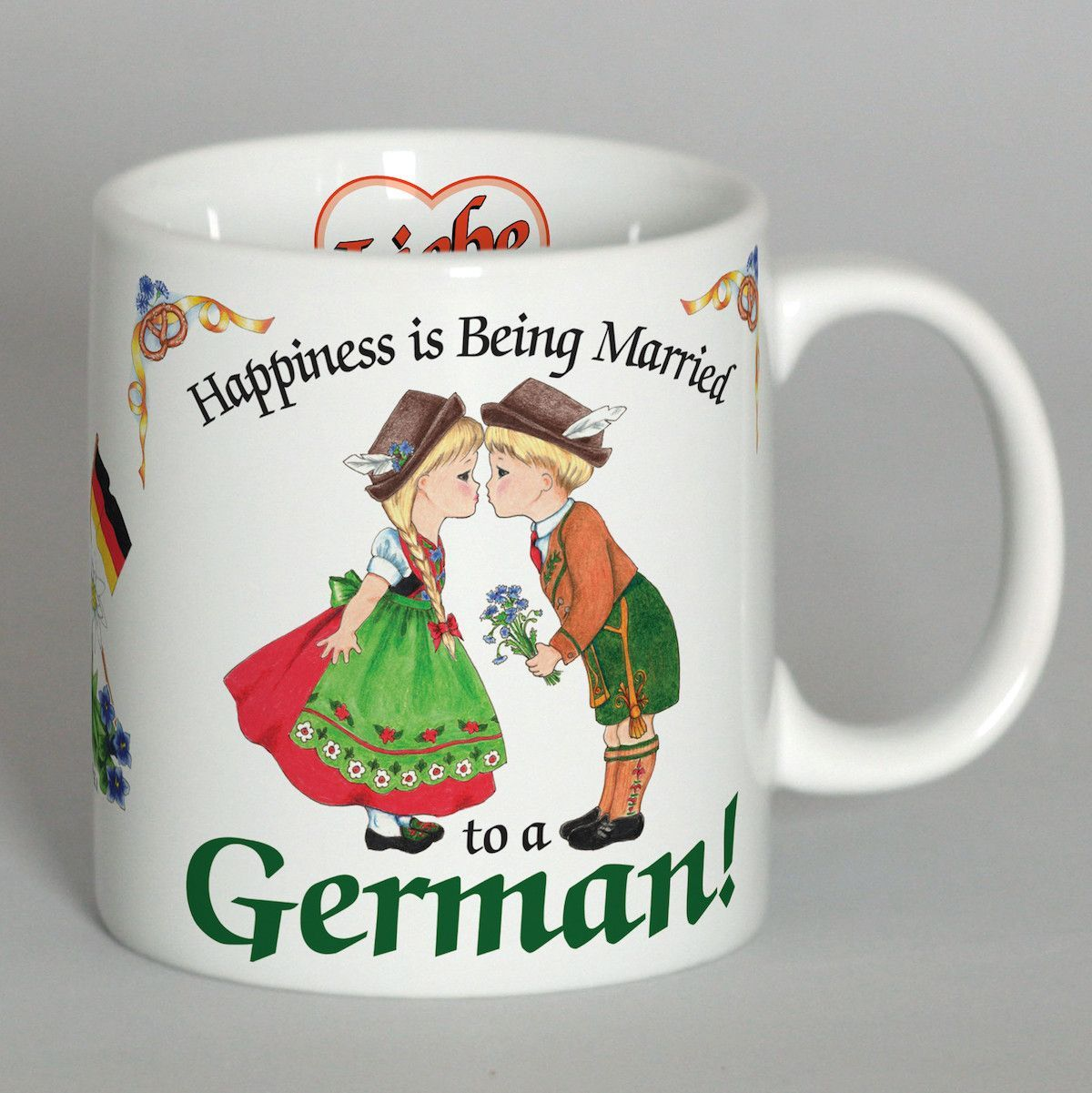 German Coffee Mug Happiness Married German Coffee Love