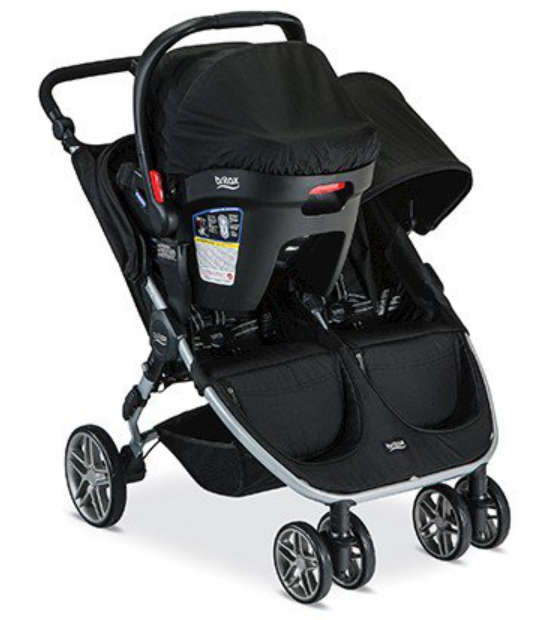 britaxbagiledouble Britax double stroller, Double