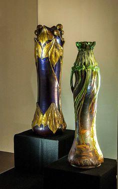 Resultado de imagem para zsolnay art nouveau vase