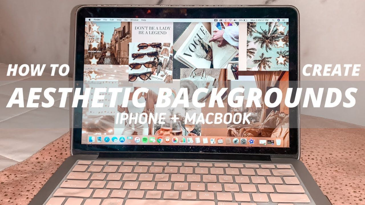 How To Make Aesthetic Collage Backgrounds For Macbook Iphone Collage Background Aesthetic Collage Wallpaper