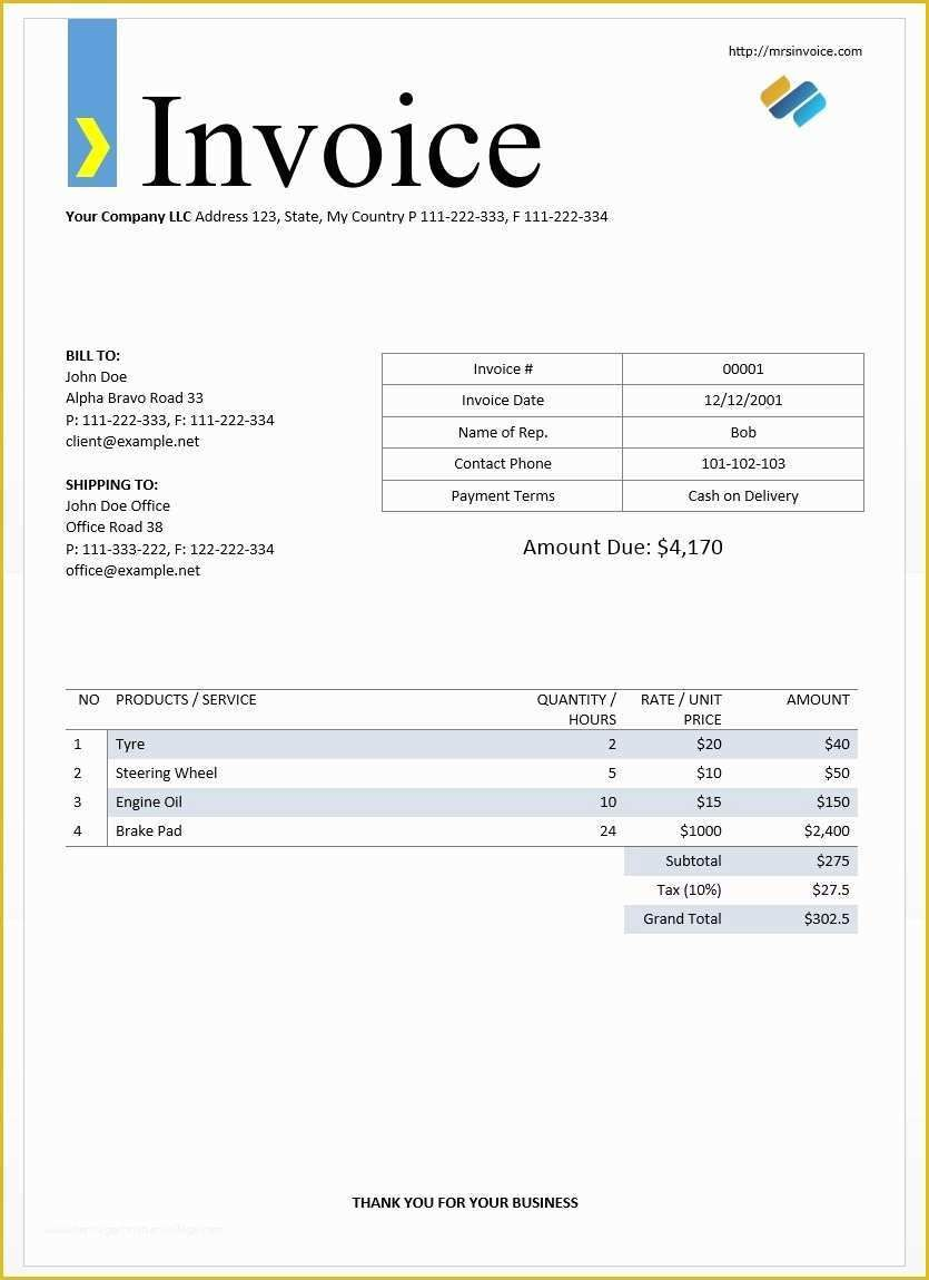 Free Online Invoice Template Of 55 Free Invoice Templates Heritagechristiancollege Microsoft Word Invoice Template Invoice Template Invoice Template Word