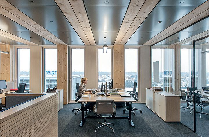 7 Floors High Building Using Clt Structures Lifecycle