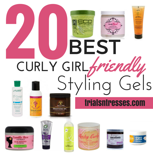 20 Best Curly Girl Friendly Styling Gels Millennial In Debt Curly Girl Method Curly Girl Natural Hair Styles